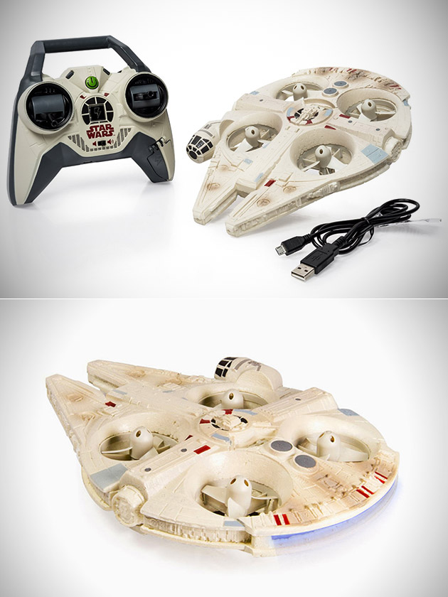Millennium Falcon Drone and 21 More Cool Products Star Wars Fans Would Love