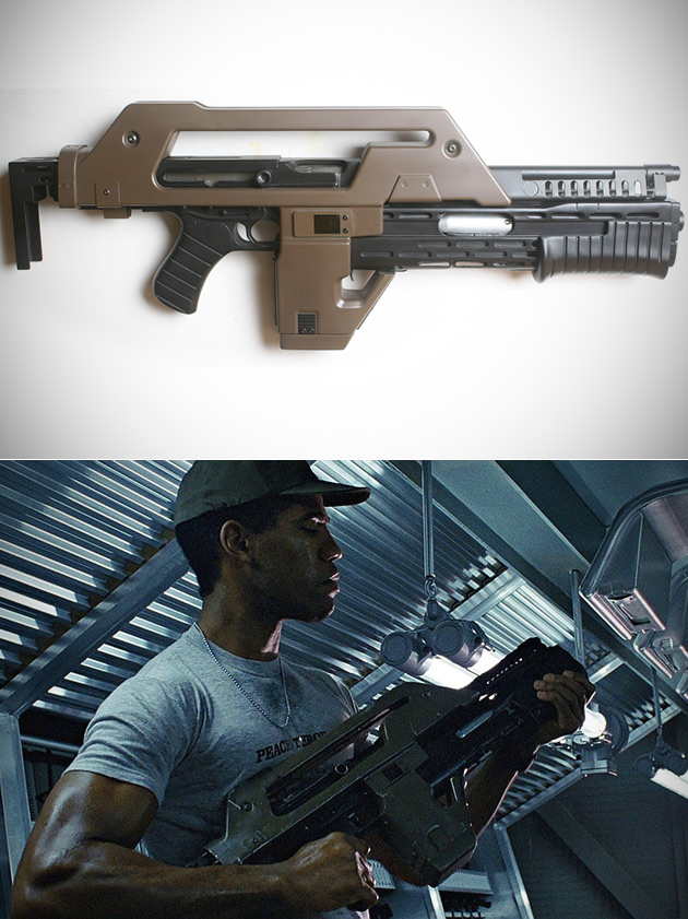 Real ALIENS M41 Pulse Rifle