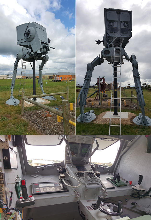 Real AT-ST Walker