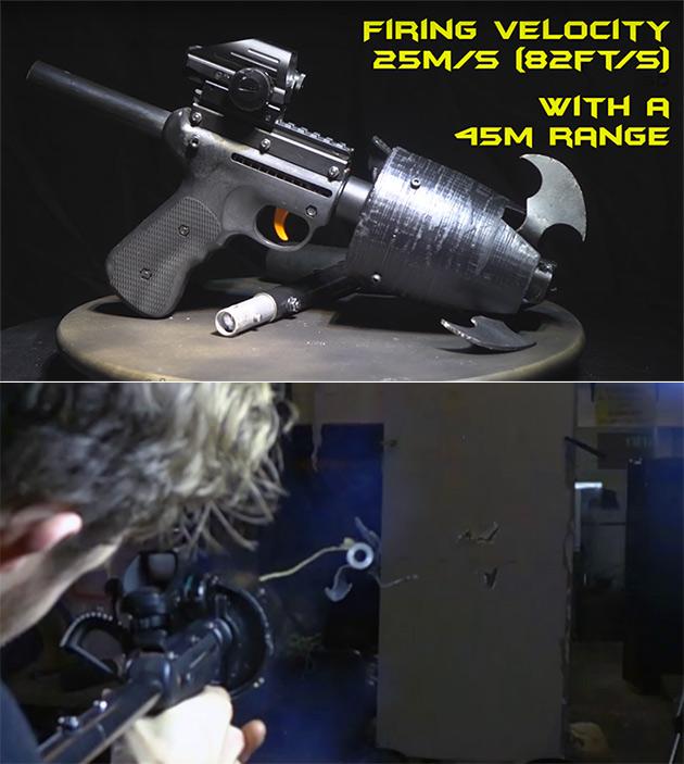 Batman Grappling Hook Gun