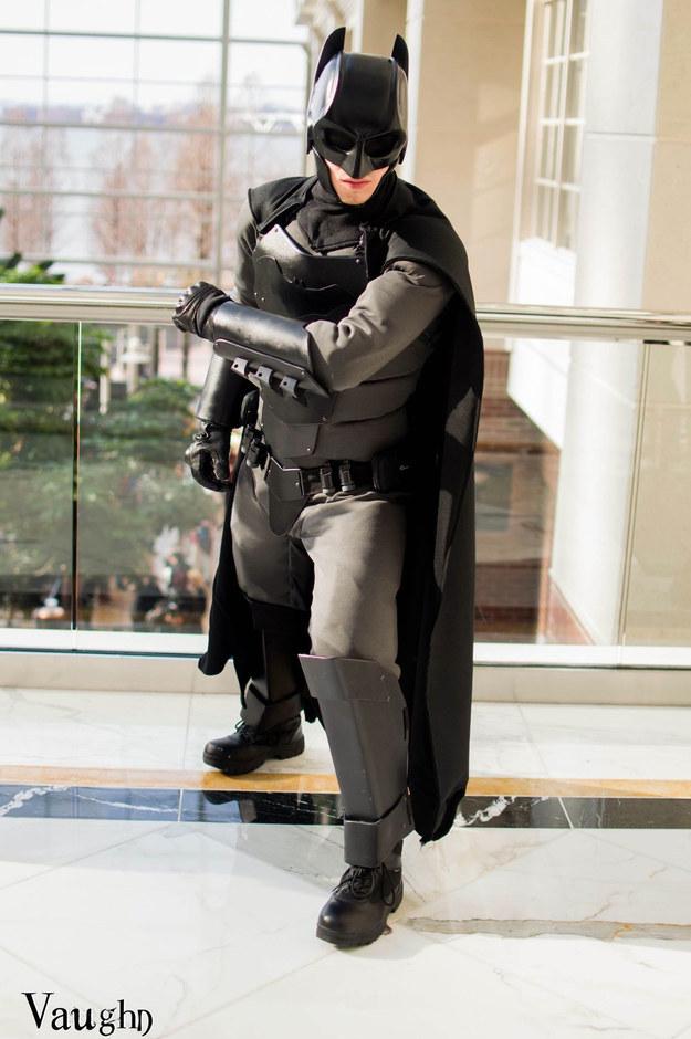 Real Batman Suit