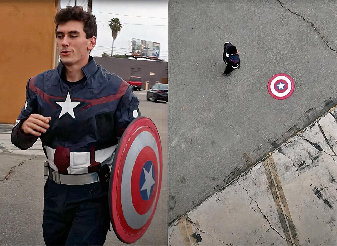 Real Captain America Shield Bounce Back