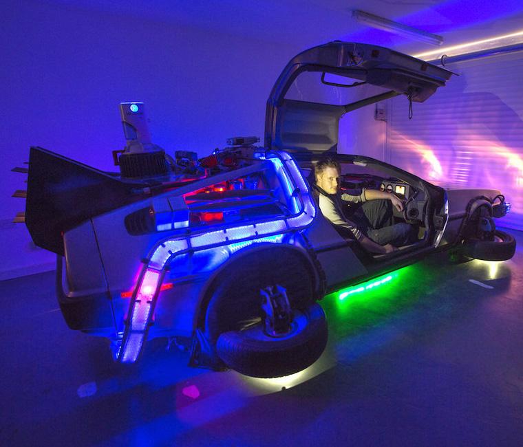 Real DeLorean Replica