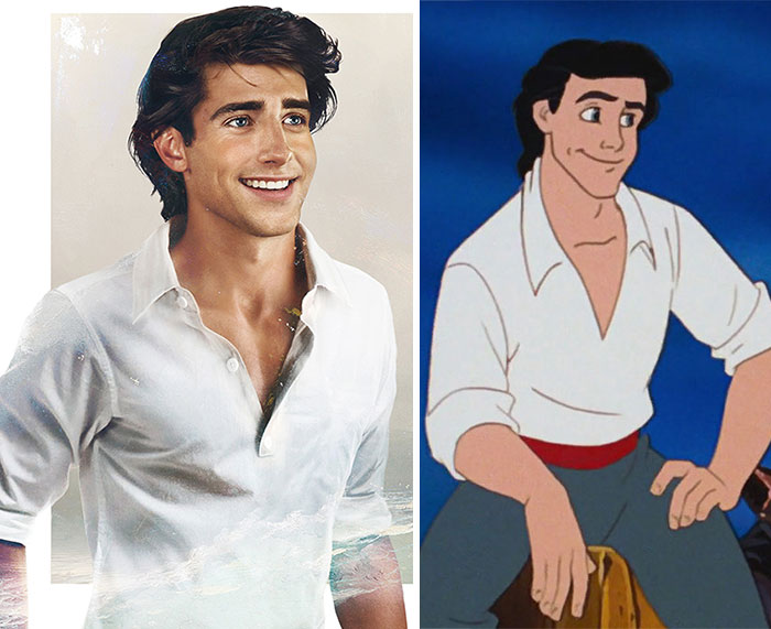 Disney Princes in Real-Life
