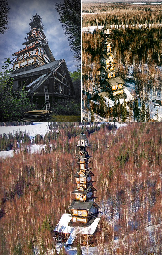massive tower in alaska is called the real life dr seuss. Black Bedroom Furniture Sets. Home Design Ideas
