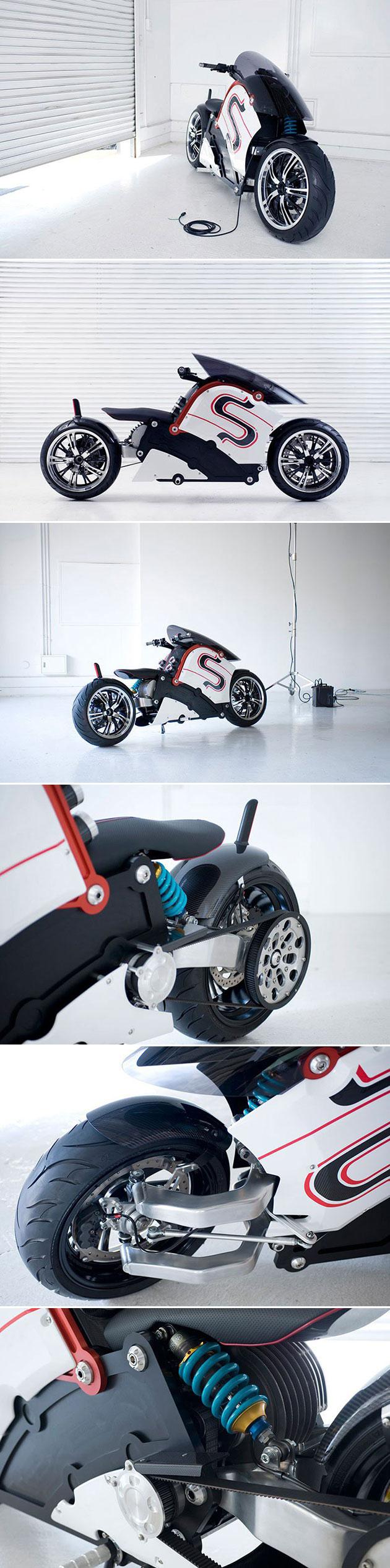 Real Electric Kaneda Bike