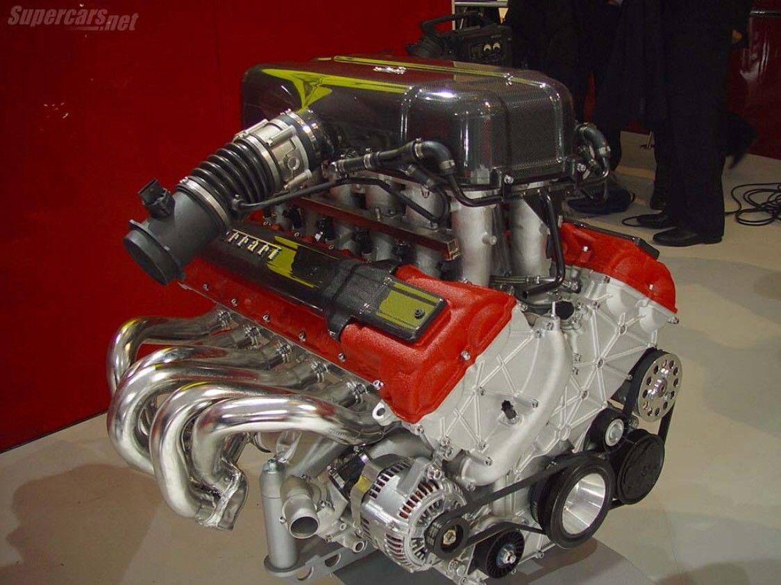 Real Enzo Ferrari Engine
