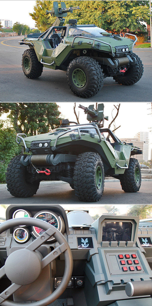 Real-Life Halo Warthog Vehicle