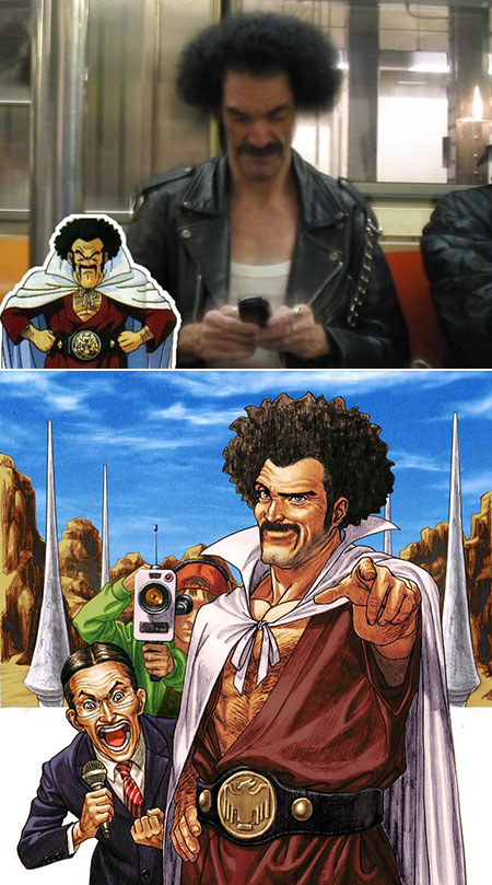 dbz real life characters - photo #6