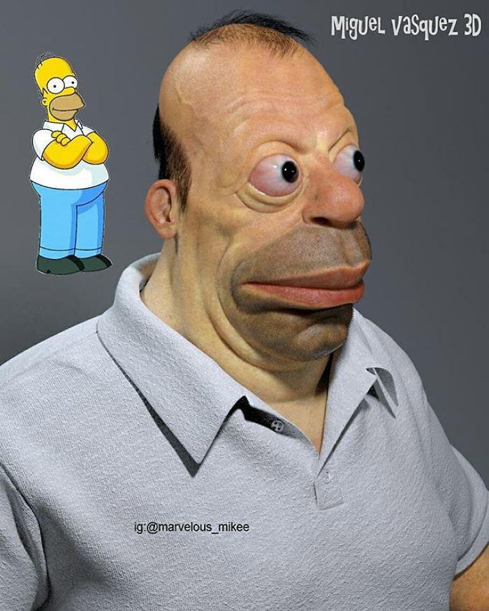 Real-Life Homer Simpson