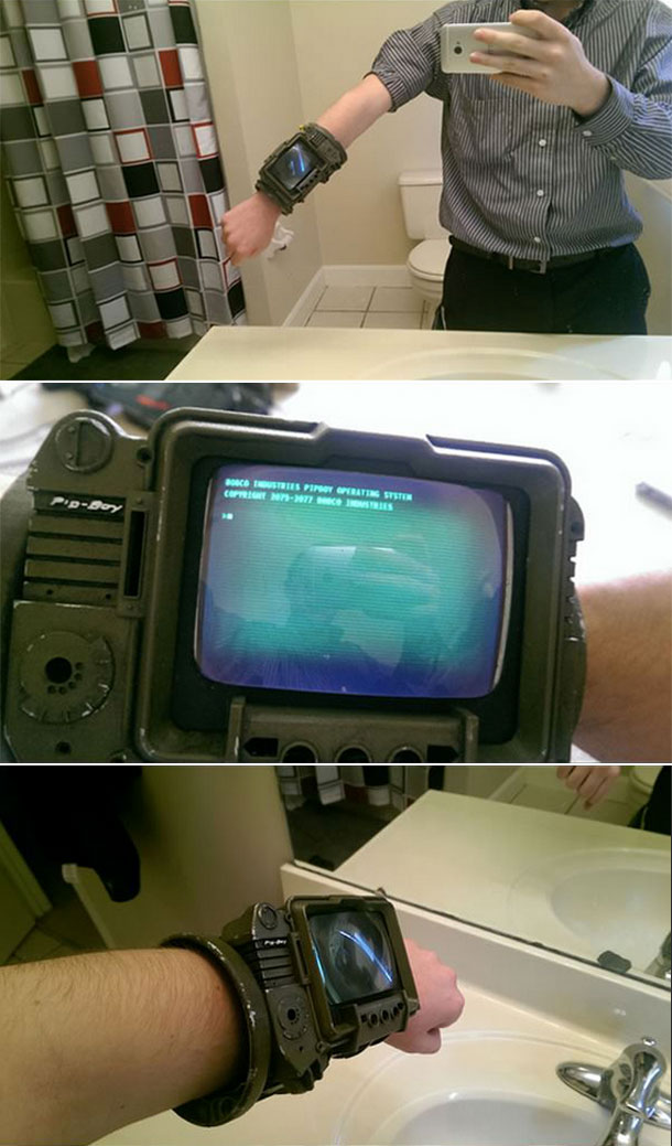 Real-Life PipBoy 3000A