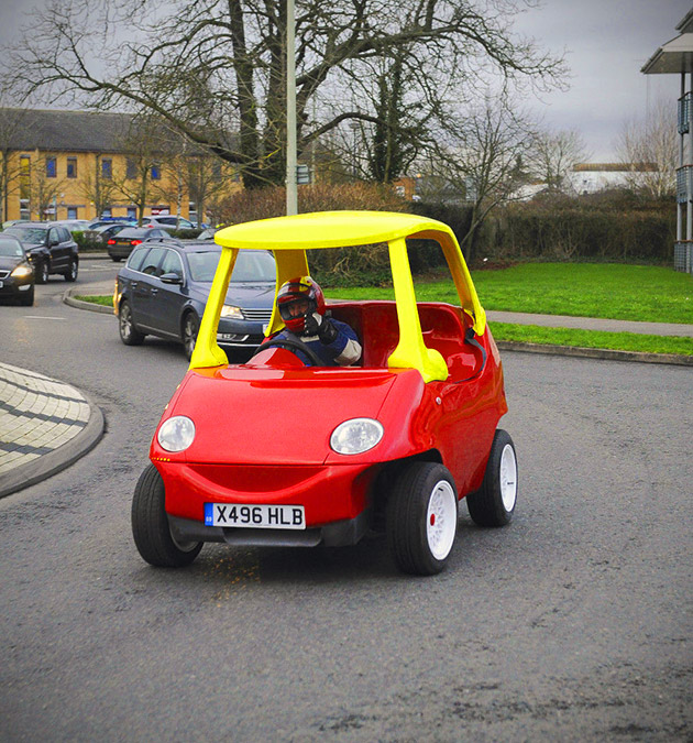 Real Little Tikes Cozy Coupe