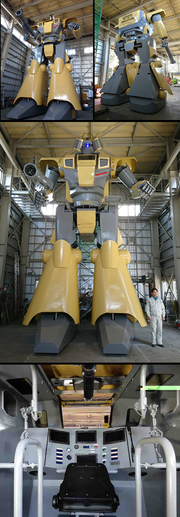 Real Mecha Robot