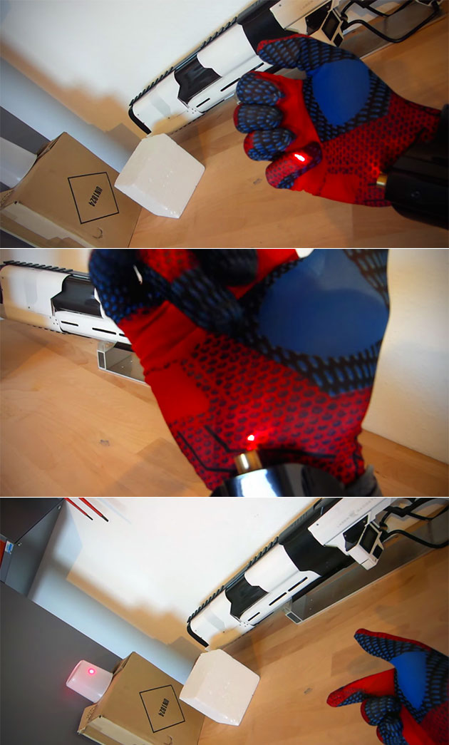 Real Spider-Man Web Shooter
