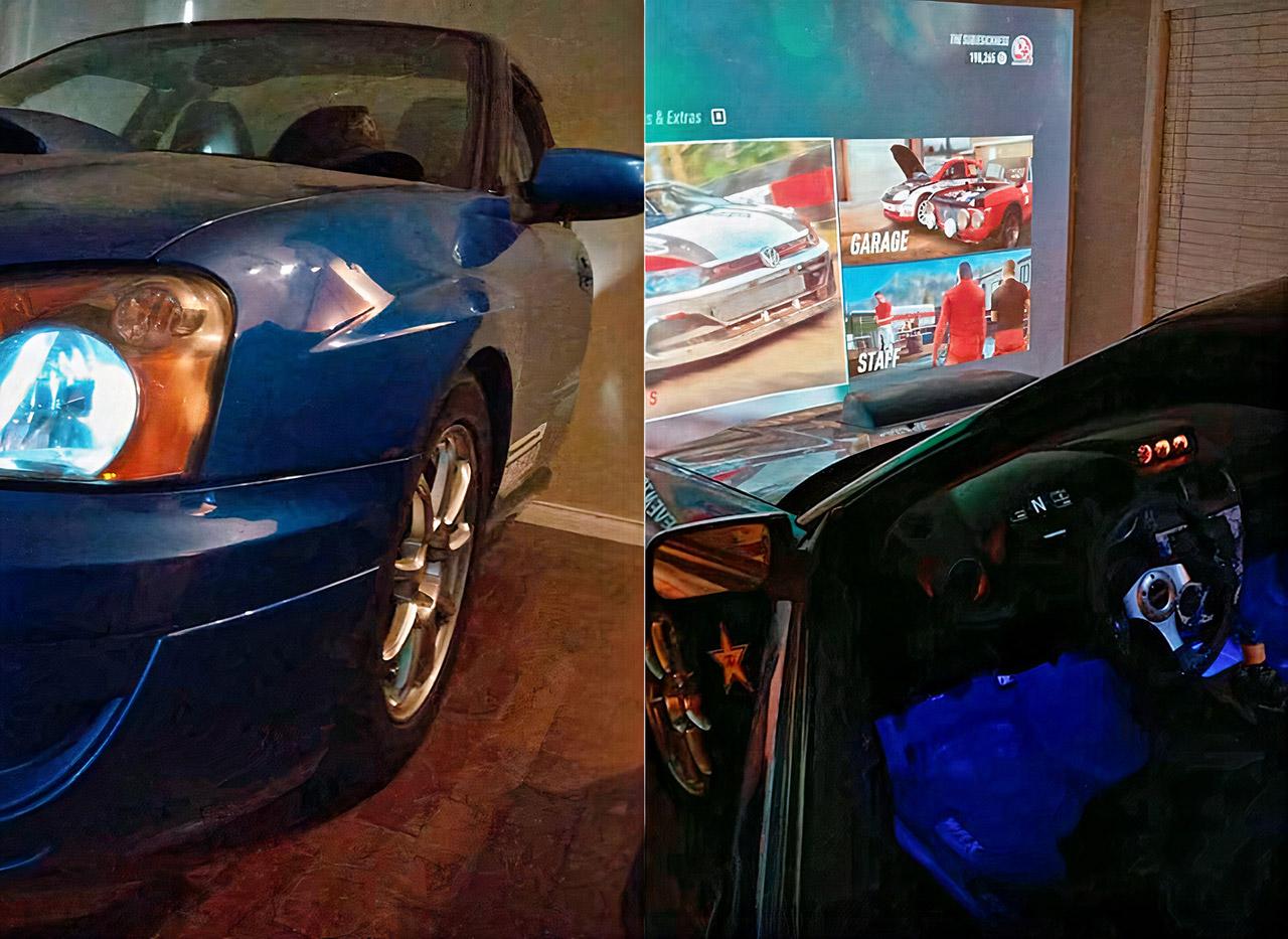 Real Subaru Home Racing Simulator