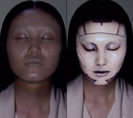 Facial Tracking Mapping