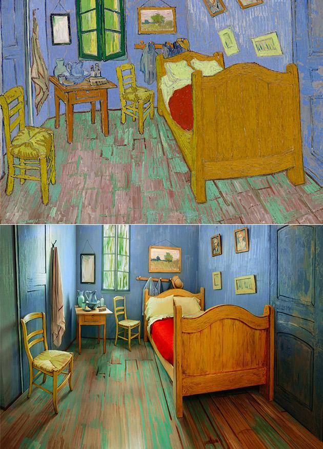 Van Gogh's Bedroom Real
