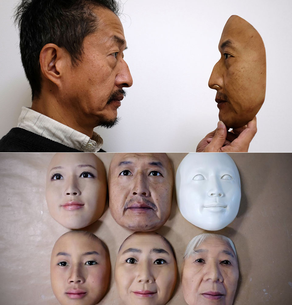 Real-f Hyper-Realistic Mask