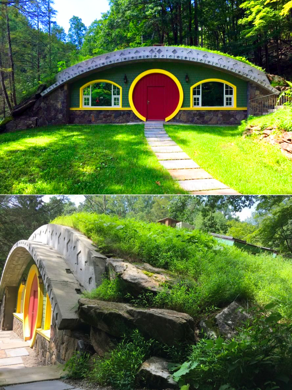 Real Hobbit House Lord of the Rings