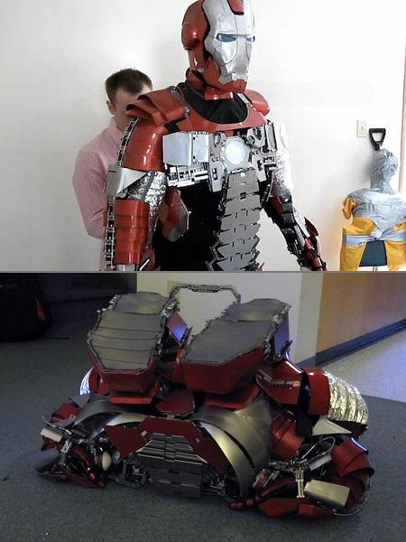 Железный человек как его сделать из железа 408