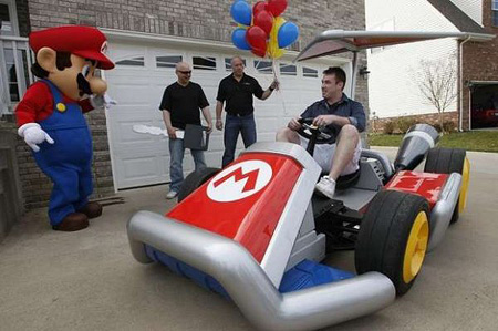 how to build a real mario kart