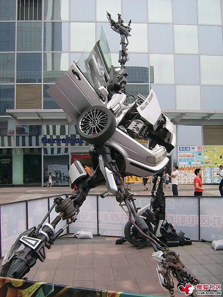 real life alien robots from the future