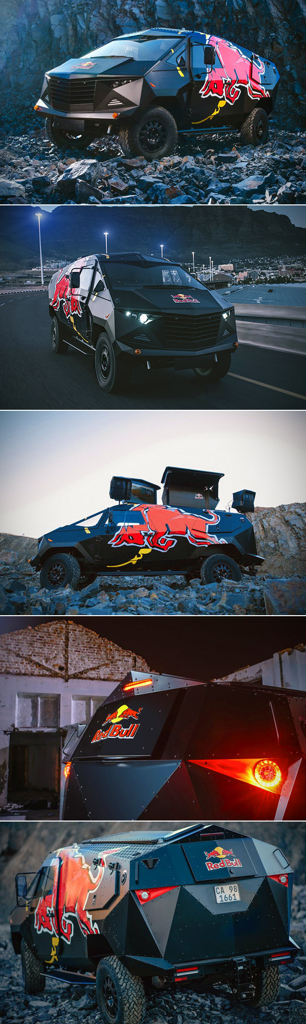 Red Bull Armored Event Vehicle