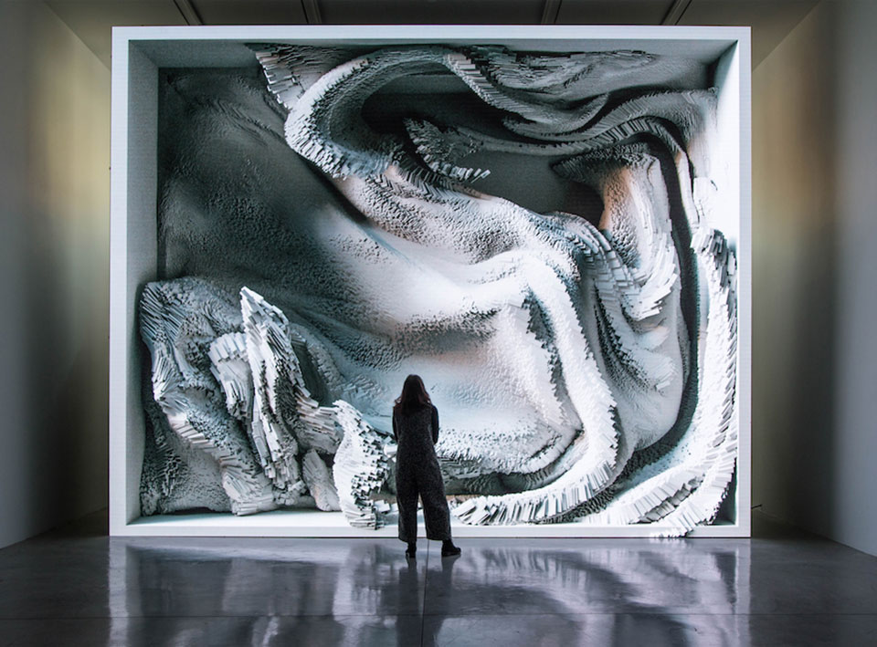 Refik Anadol AI Data Art