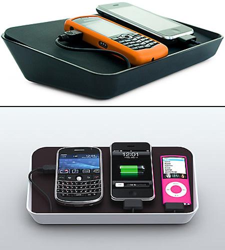 refresh electronics charging station techeblog. Black Bedroom Furniture Sets. Home Design Ideas