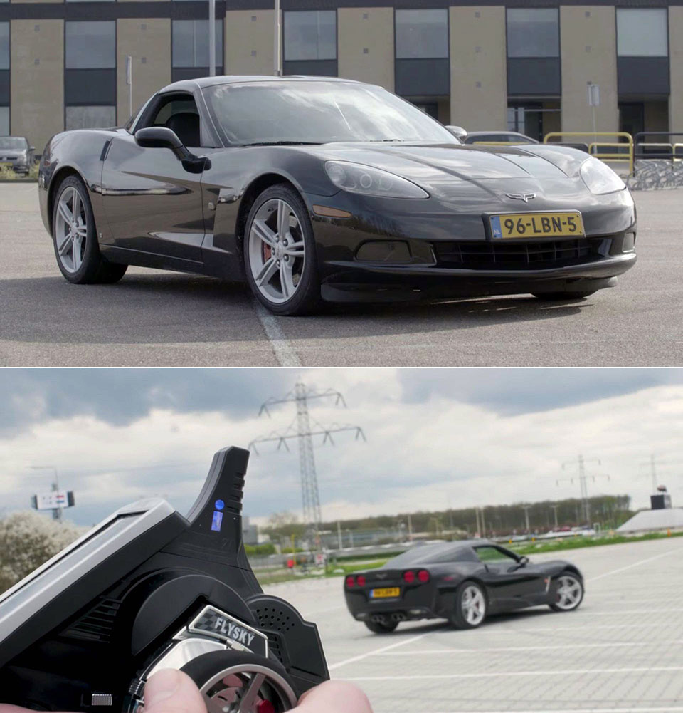 Remote-Controlled Corvette C6