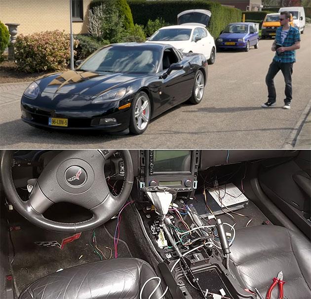 Remote Controlled Corvette