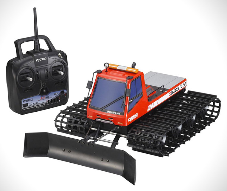Remote-Controlled Snowplow Kyosho