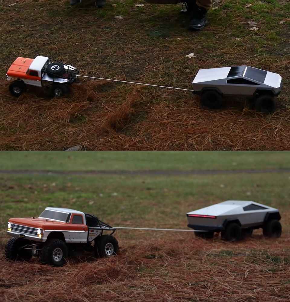 Remote-Controlled Tesla Cybertruck