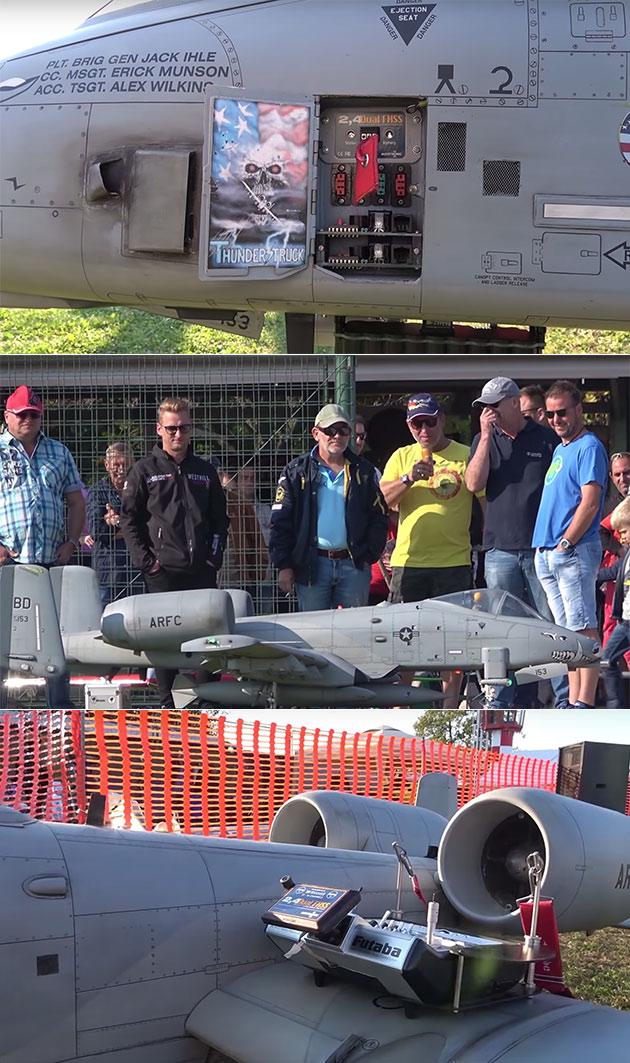 Remote-Controlled A-10 Warthog