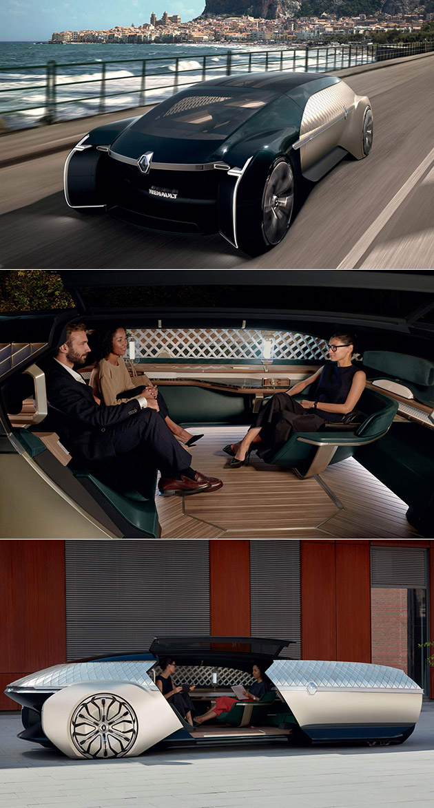 Renault Ez Ultimo Concept Is A Self Driving First Class Lounge On