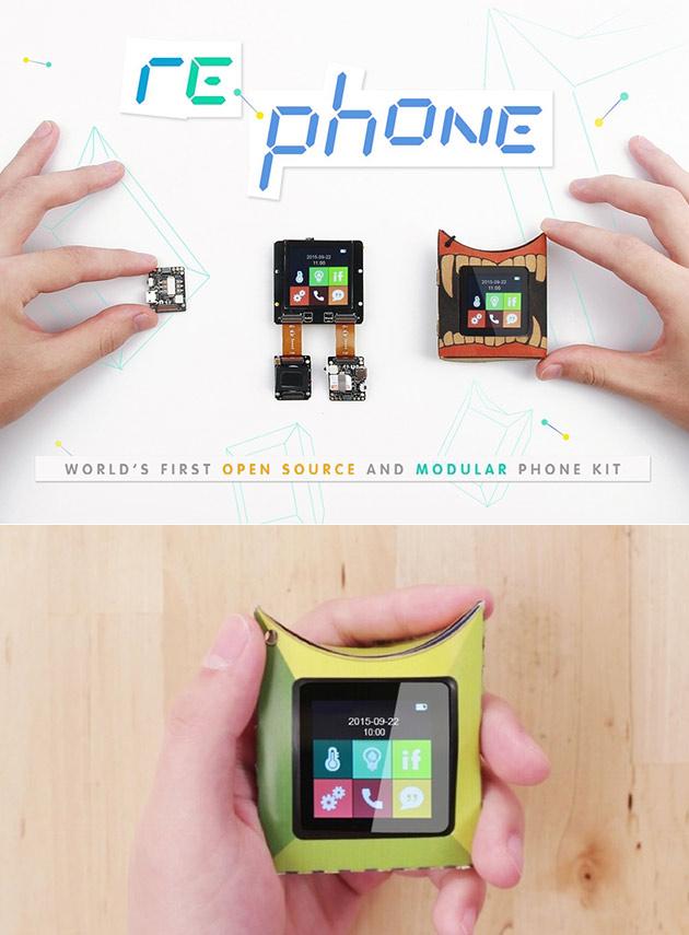 RePhone est une Première Mondiale la Source Ouverte et Modulaire de Téléphone