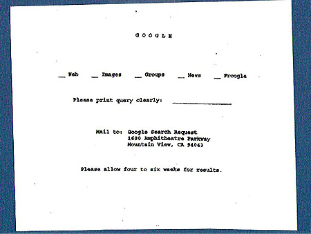 GOOGLE BEFORE Request