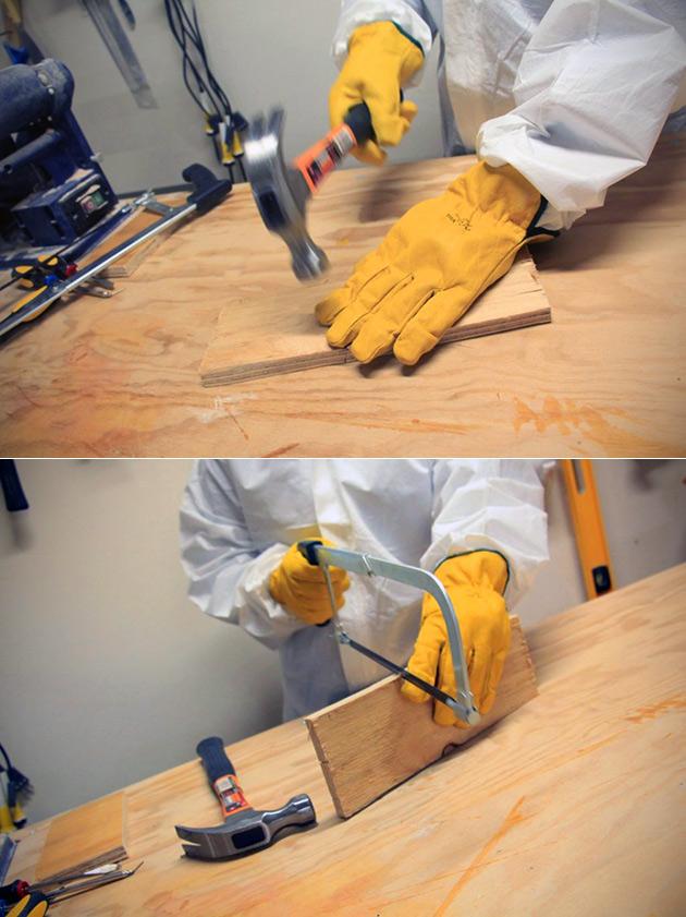 Resafe Gloves Saw-Proof