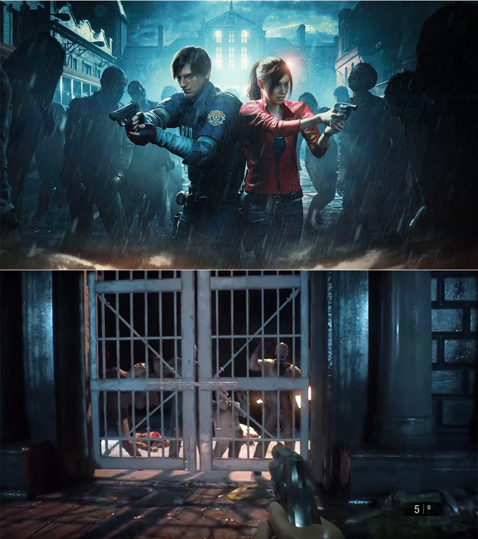 Resident Evil 2 First Person