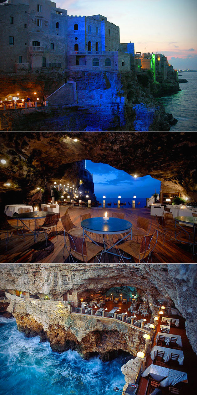 Restaurant in Cave Italy