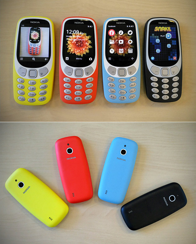 Retro Nokia 3310