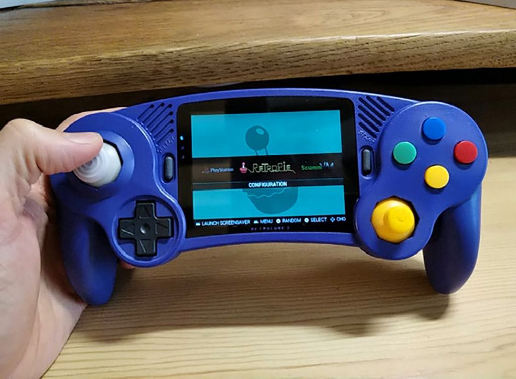 RetroBlock 2 Portable Game Console CameCube