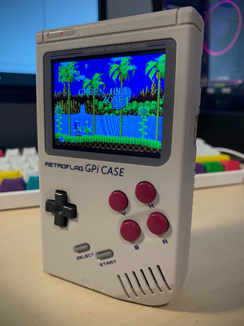 Retroflag GPi Raspberry Pi Computer Game Boy