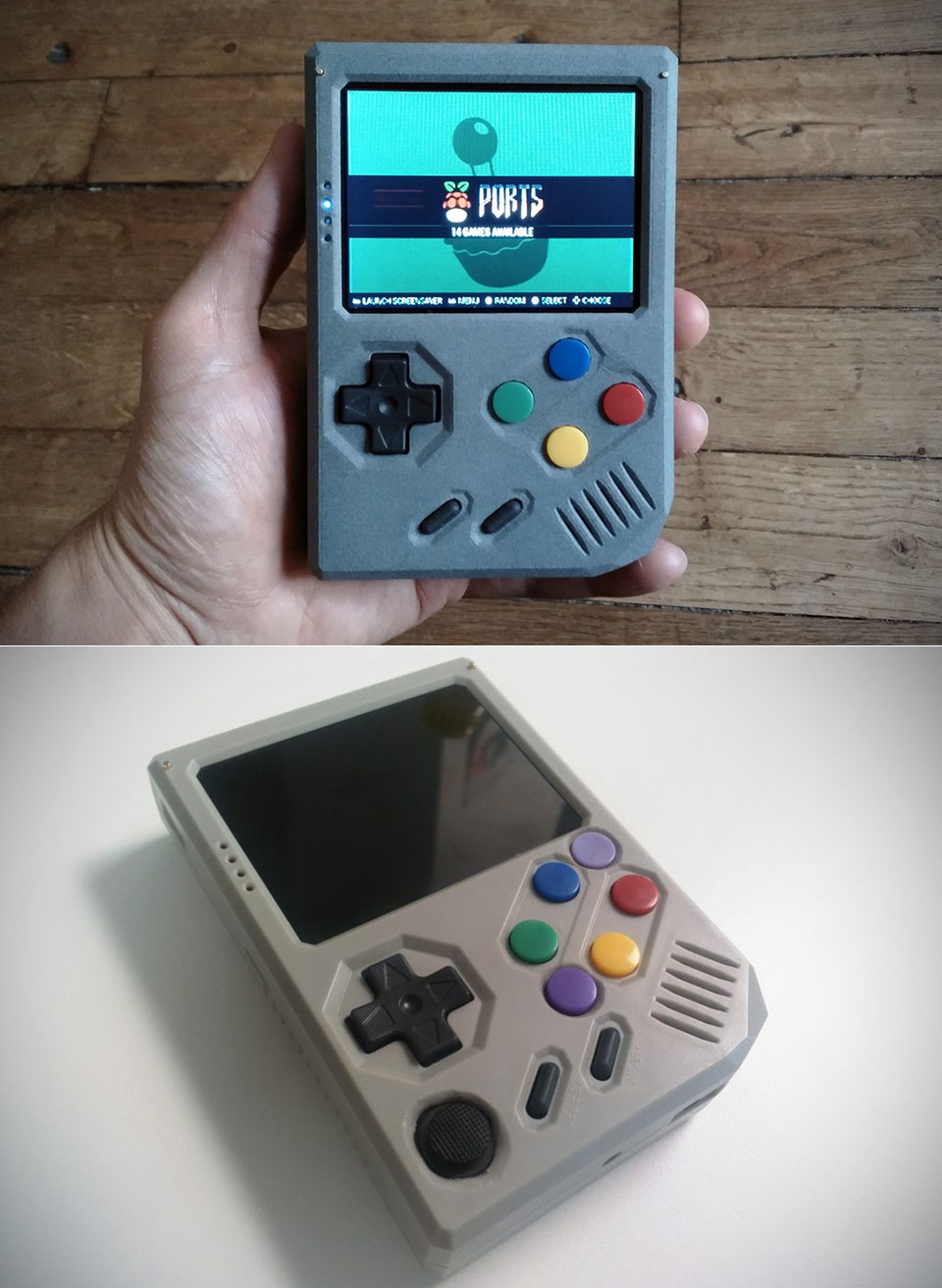 RetroStone Portable Game Console