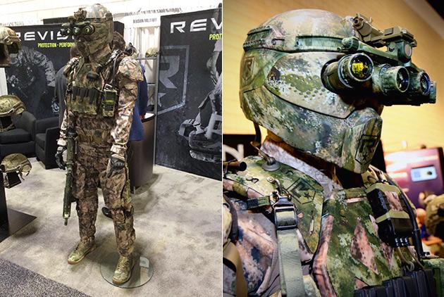 Revision Military Exoskeleton