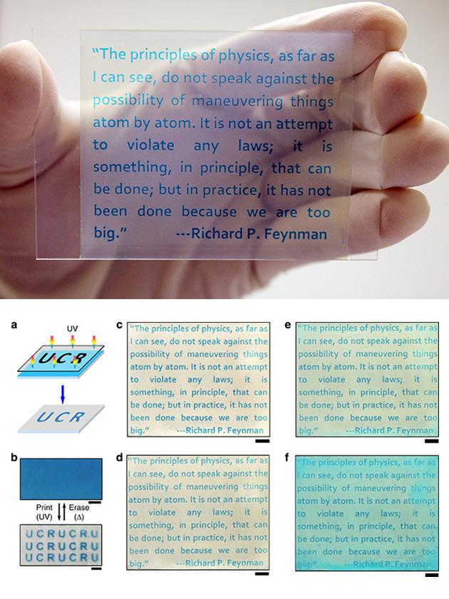 Rewritable Paper