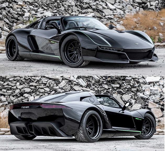 Rezvani Beast Carbon Fiber Supercar: Rezvani Beast Alpha X Blackbird Was Named After The SR-71