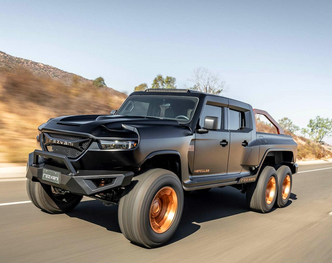 Rezvani Hercules 6x6 Truck