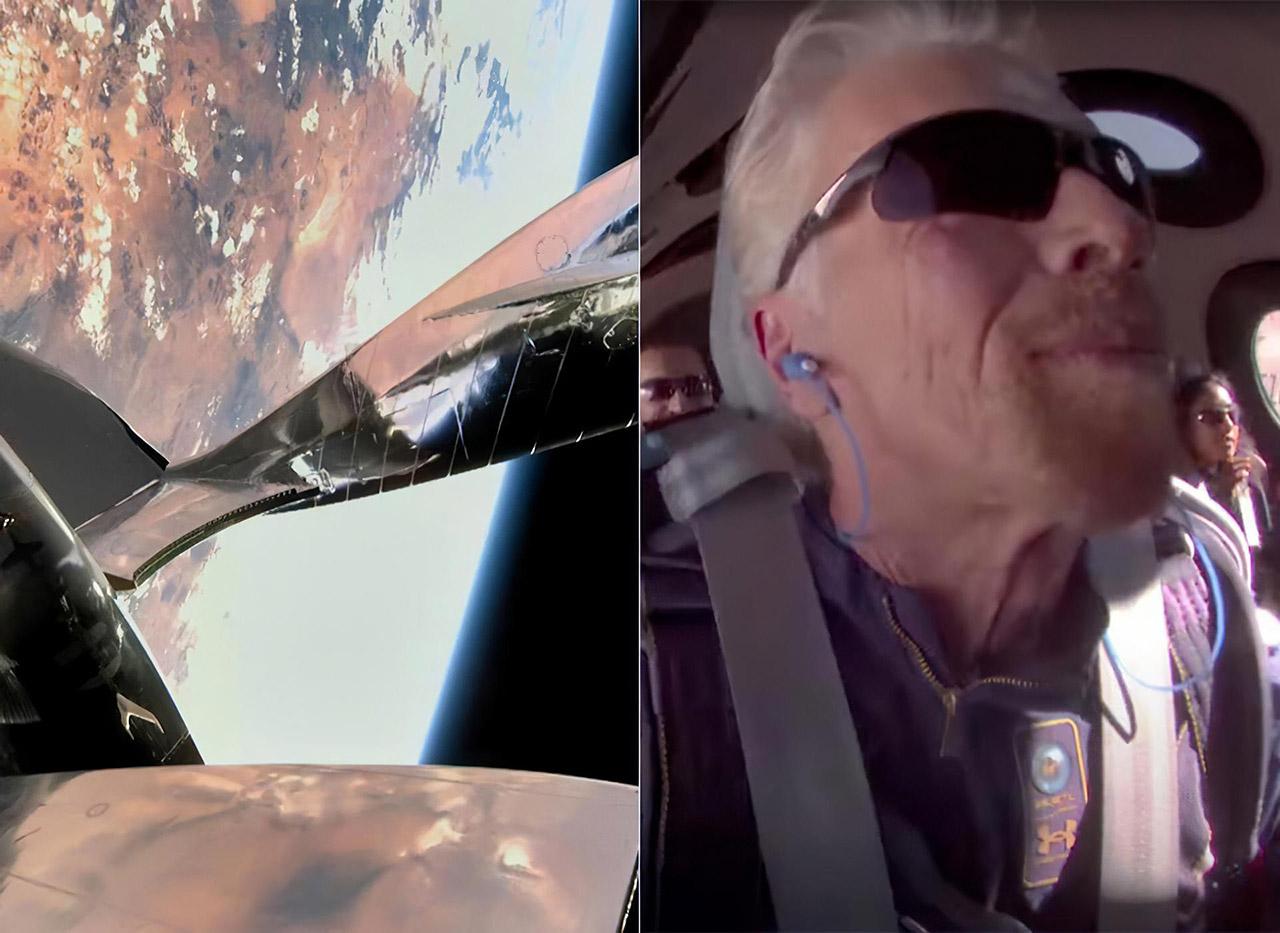 Richard Branson Space Virgin Galactic Spaceflight