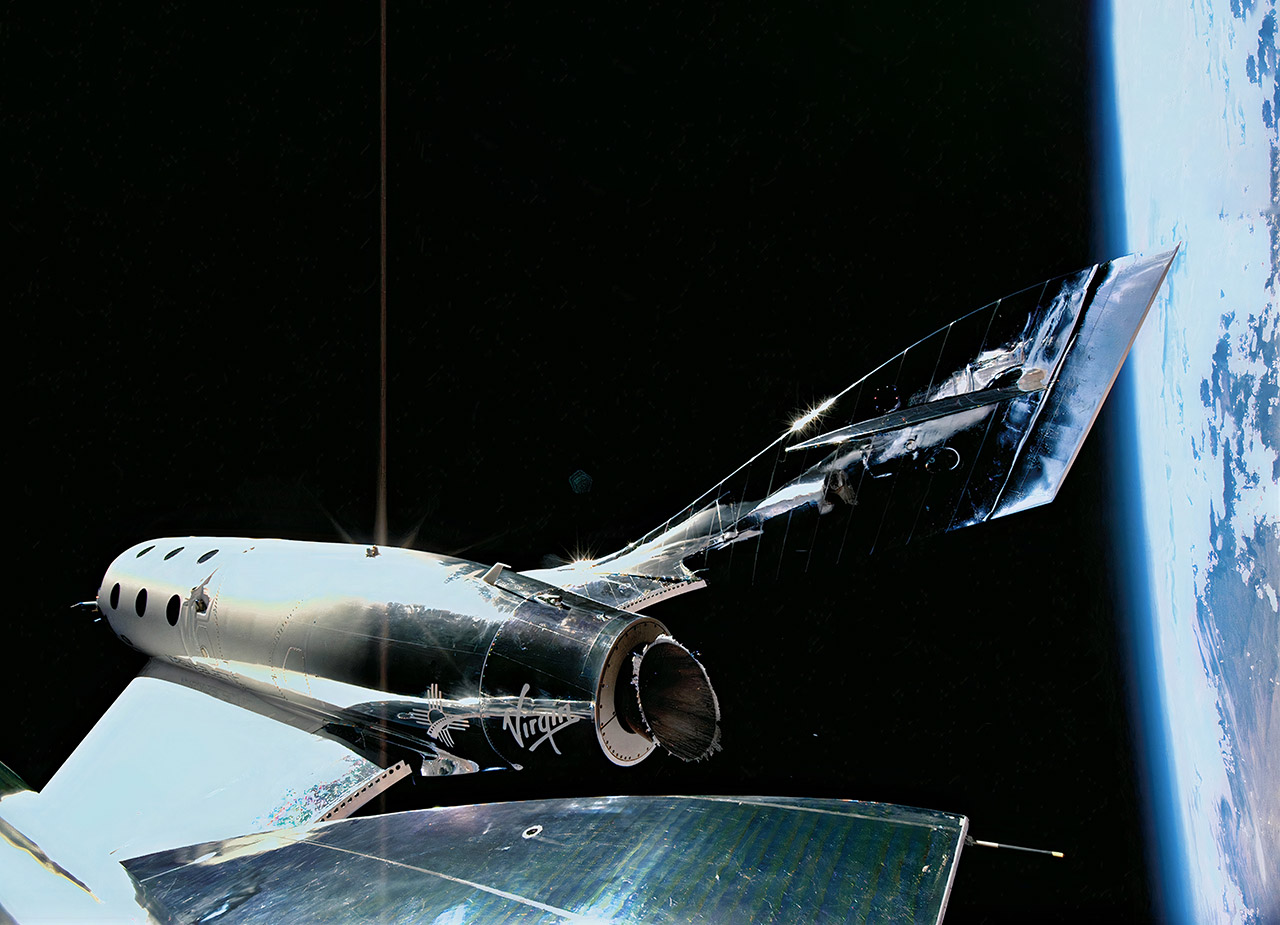 Richard Branson Virgin Galactic FAA Approval Space